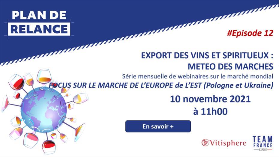 Météo de l'Export du vin – Episode 12 – Focus Europe de l'Est